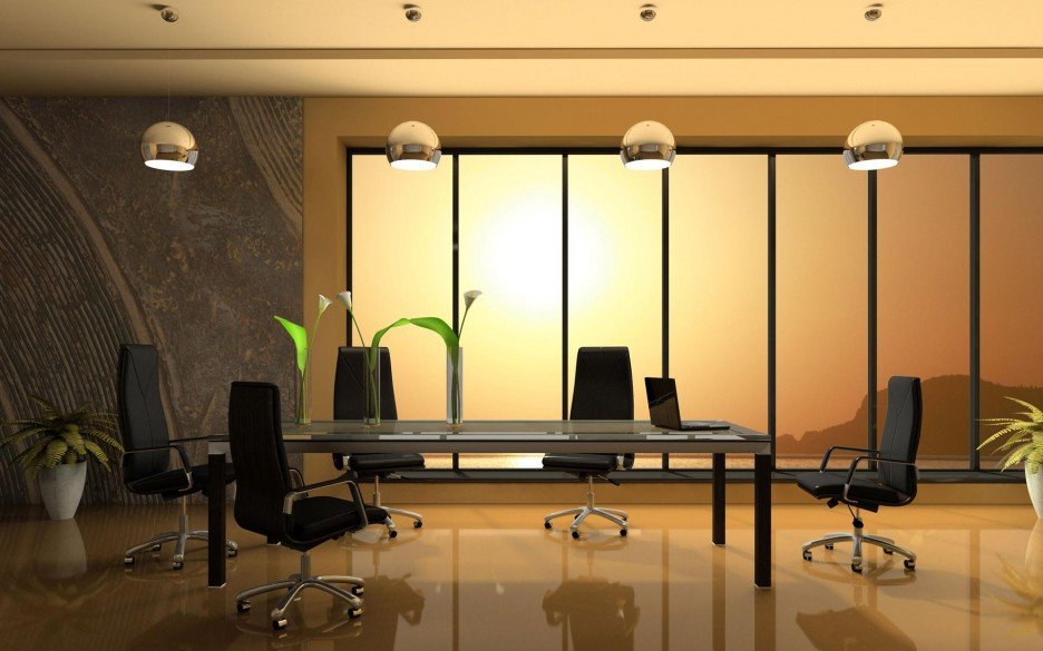 Interior design ideas architecture blog modern design for Office conference room decorating ideas