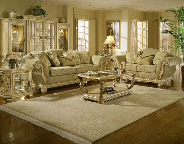 room fancy classical luxury sofas wooden floor traditionl living room