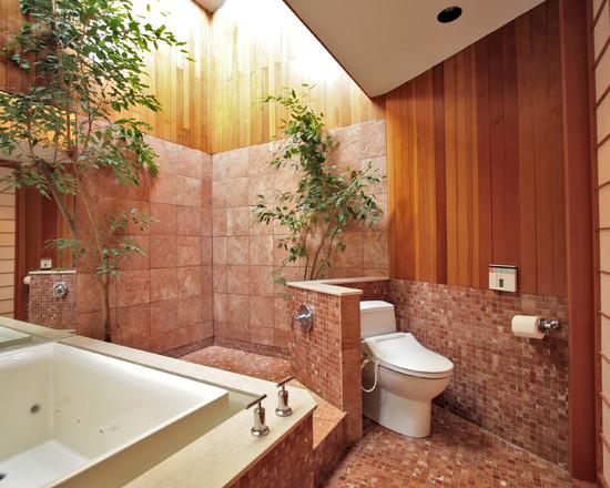 Tropical Bathroom Tile Ideas : Forbidden