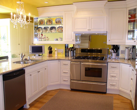 Fascinating-Kitchen-White- ...