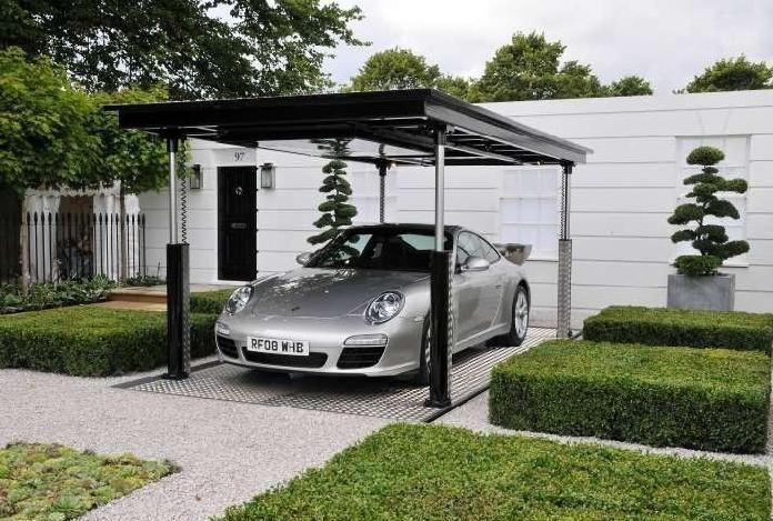Interior design ideas architecture blog modern design for Underground garage plans