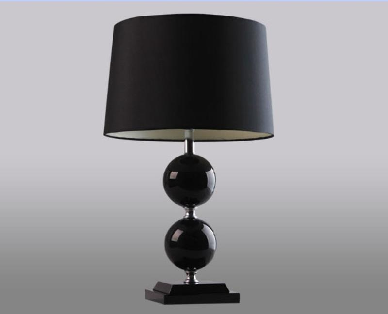 creative battery operated table lamps with modern lampshade. Black Bedroom Furniture Sets. Home Design Ideas