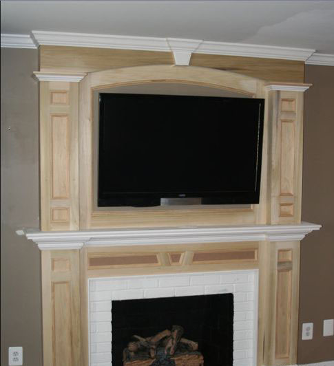 Brick Fireplace With Tv Mounted Above 2017 2018 Best