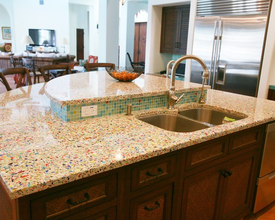 Labeled kitchens design modern kitchen design ideas for Kitchen cabinets made from recycled materials