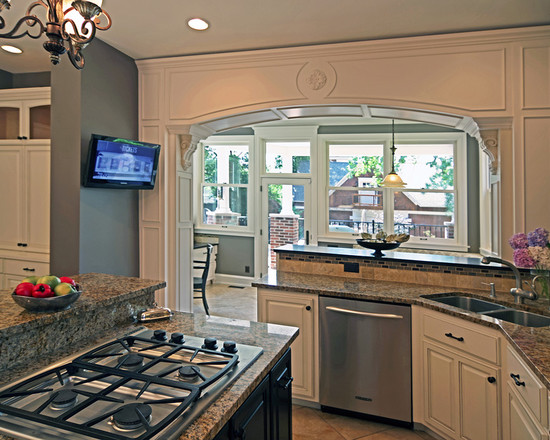 Small kitchen addition ideas home design and decor reviews for Kitchen addition plans