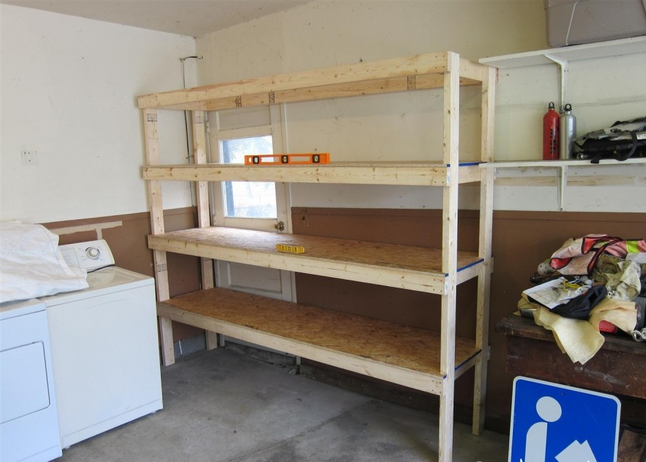 PDF DIY Simple Wooden Garage Wall Shelves Download garage ...