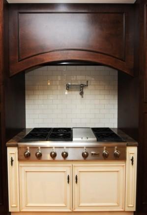 Interior design in stunning looks sleek traditional kitchen design