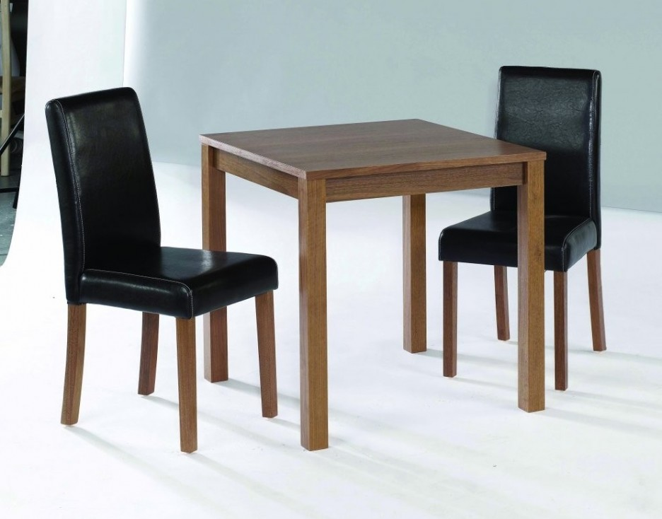 Small black dining table and chairs small black high for Small black dining table set