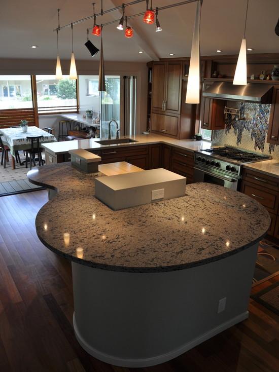 Interior design ideas architecture blog modern design Unique kitchen countertop materials
