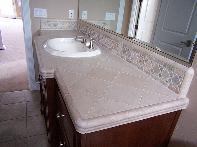 403 forbidden for Tile countertops bathroom ideas