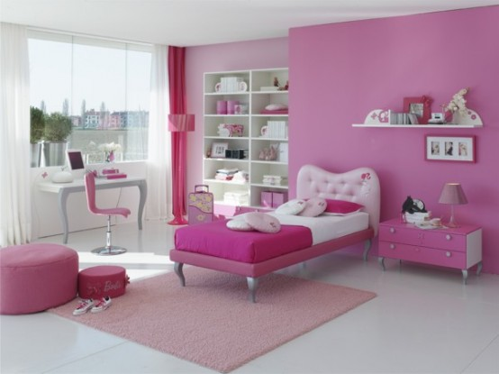 Bedroom: Simple Little Girls' Bedroom Ideas With Eye Catching ...