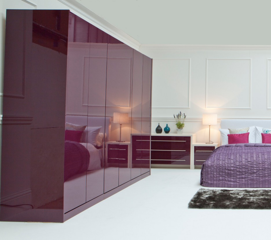 Used bedroom furniture decoration access for Interior designs for bedroom cupboards