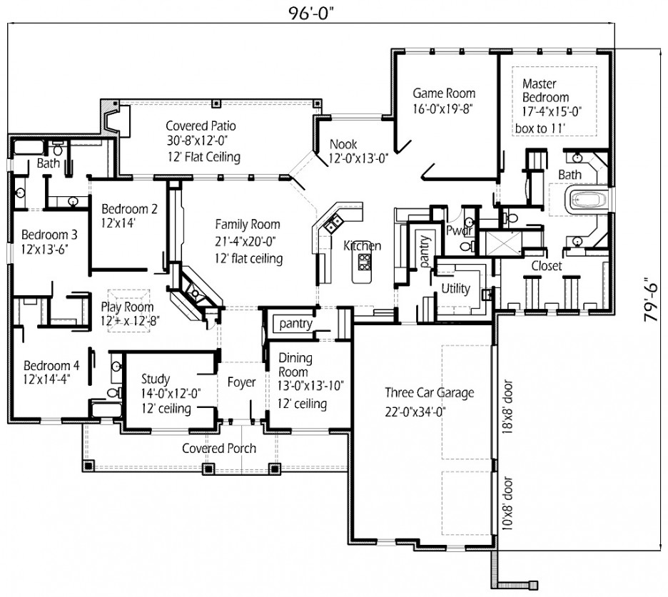 interior design floor plans