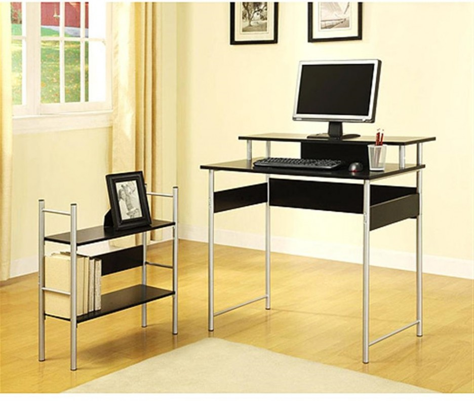 Cheap Black Computer Desk Desks White And Color