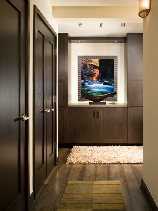 Interior Home: Stunning Traditional Hallway With Closed Doors ...