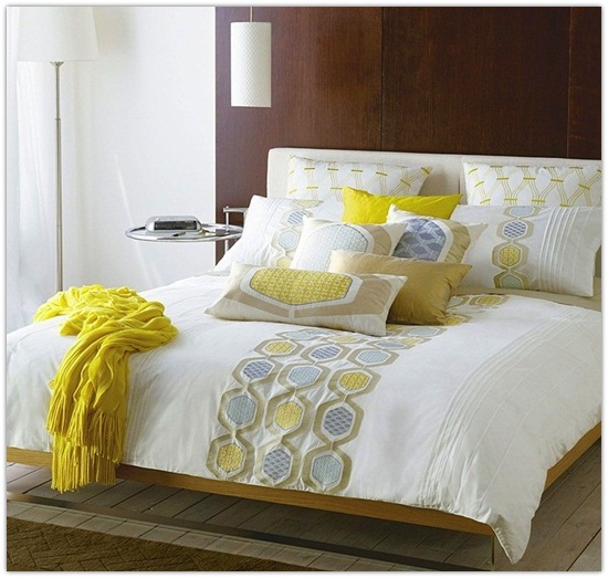Yellow Decorative Pillows For Bed : Interior Design Ideas, Architecture Blog & Modern Design Pictures ~ CLAFFISICA