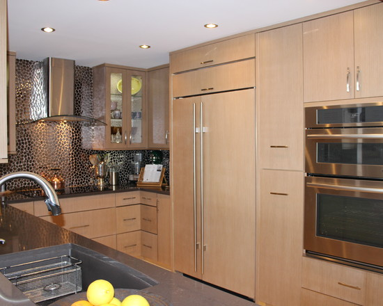 Contemporary Design ? Wonderful Contemporary Kitchen Design Light Oak