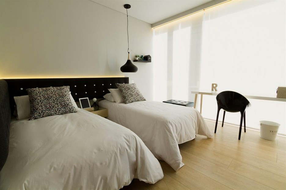 403 forbidden for Minimalist black and white bedroom