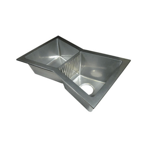 Butterfly Sink : ... Sinks Design With Butterfly Shape Idea To Accommodate Double Sink