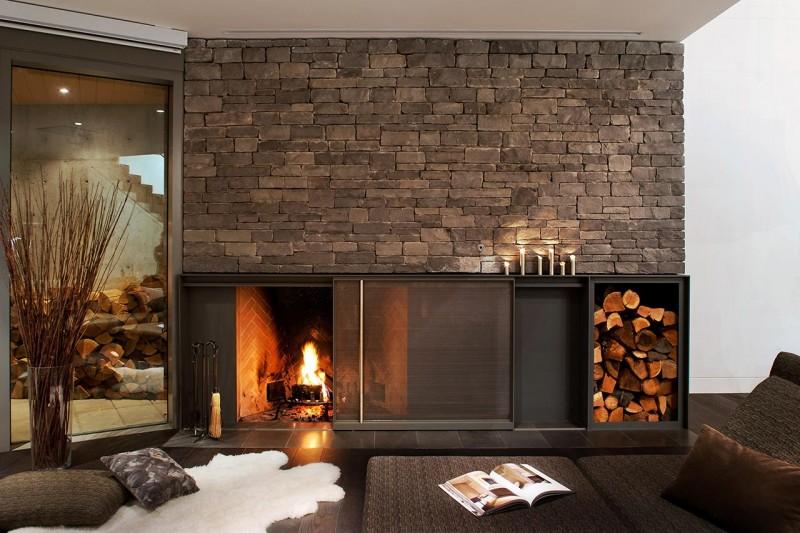 Floor Pillows Fireplace : Interior Design Ideas, Architecture Blog & Modern Design Pictures ~ CLAFFISICA