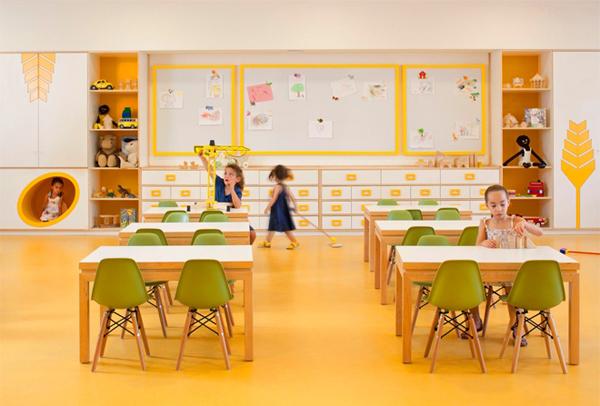 Modern White Classroom : Interior design ideas architecture modern