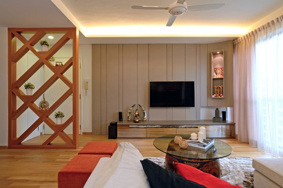 Indian living room decor modern house for Minimalist lifestyle india
