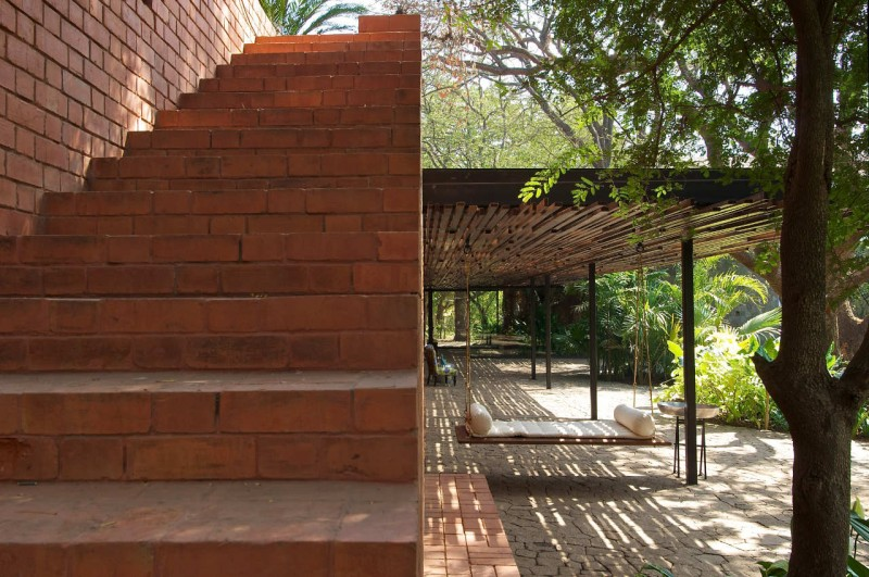Cool Brick Home Design For Living Epic The Brick Kiln House Exterior