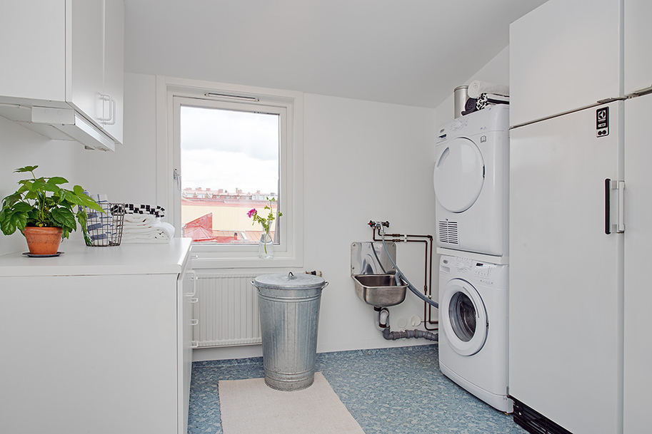 incredible swedish laundry room project of minimalist apartment with