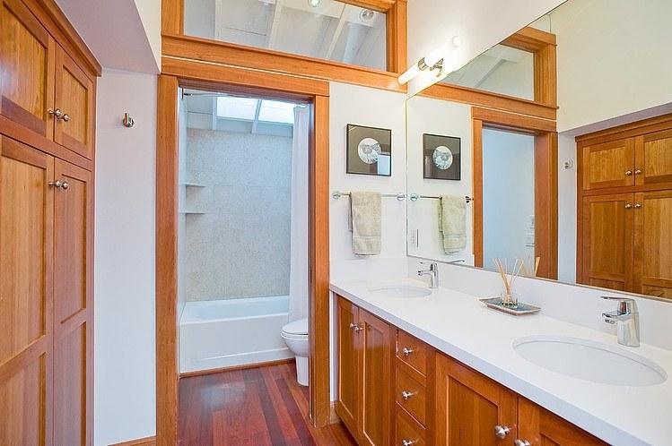 Interior design ideas architecture blog modern design for Modern ranch bathroom