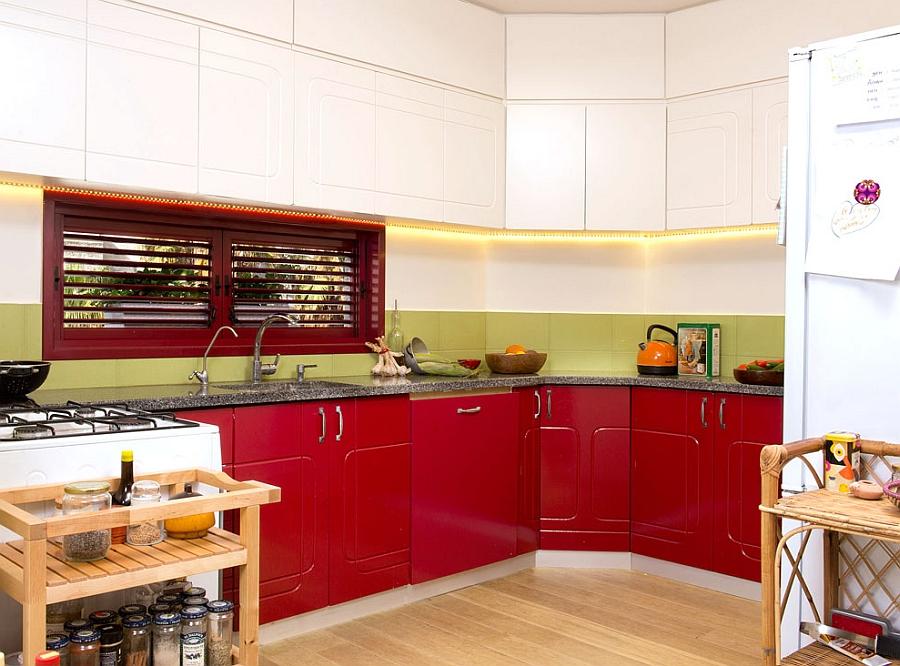 Interior design ideas architecture blog modern design for Red and green kitchen ideas