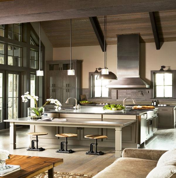 kitchen island lighting designs kitchenidease antique kitchens