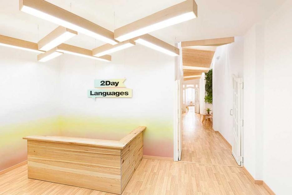 Architecture: Wonderful Hallway Interior Design Used Wooden ...