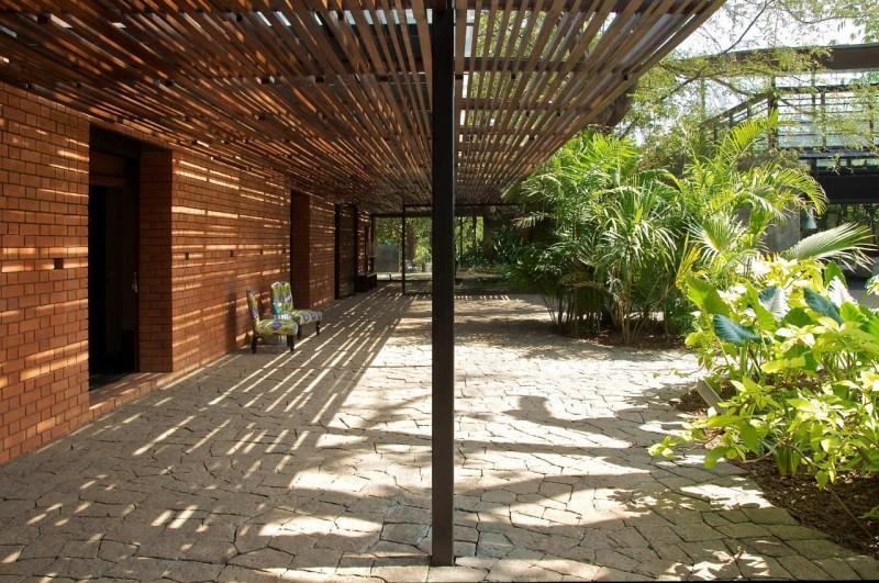 403 Forbidden - brick wall patio designs small home