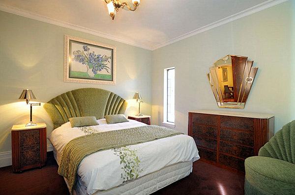 Art deco bedroom design home decoration live for Art deco decoration