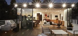 Interior home warm wooden tones for contemporary living - Appartement bellevue hill rolf ockert design ...