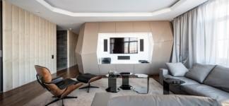 Furniture Beautiful Geometrix Design Interior With Modern