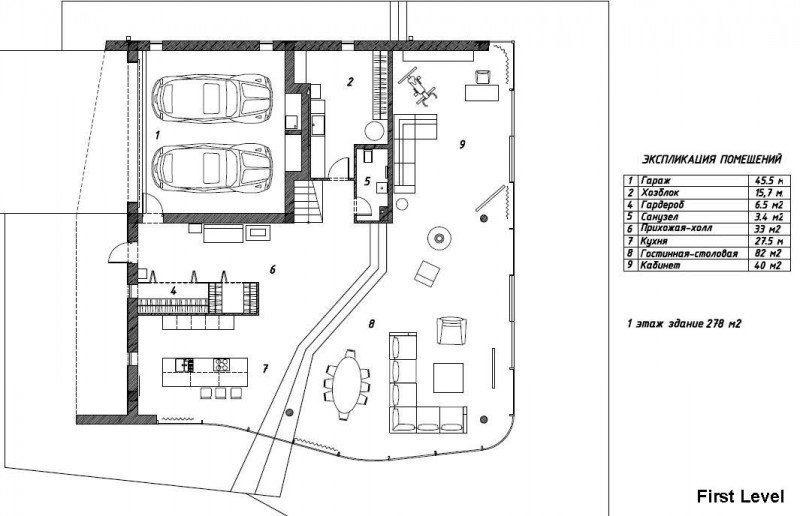 Garage floor plans with living quarters joy studio for Livable garage plans