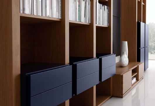 Interior design ideas architecture blog modern design for Minimalist living storage