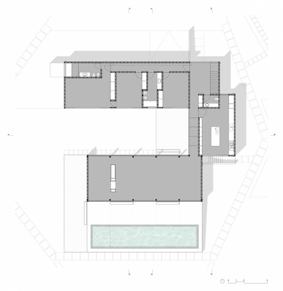 C Shaped House Plans