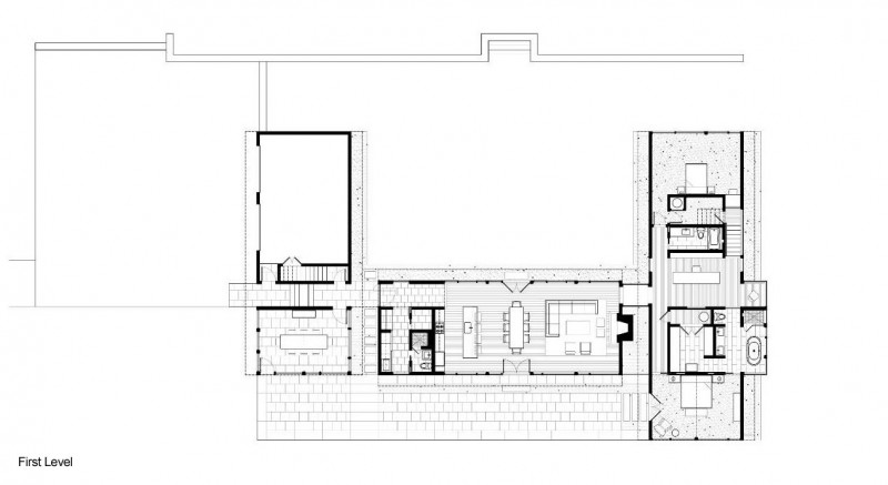 Interior design ideas architecture blog modern design for U shaped dining room table