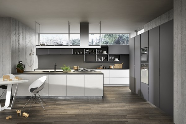 403 forbidden for Black white and gray kitchen design