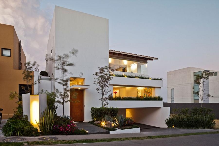 Interior design ideas architecture blog modern design for Terraced house exterior design