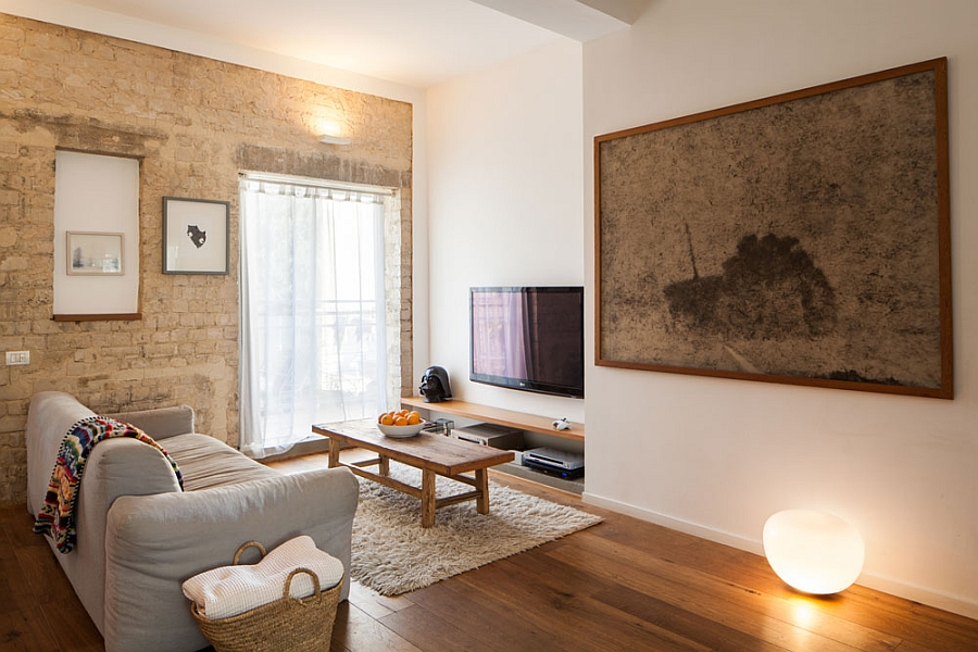 solve the small space problem warm neutral colors in the living room