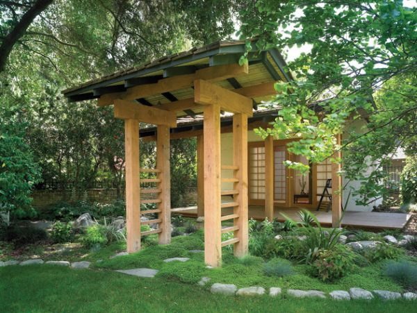 Modern Japanese Design Bamboo House  Trend Home Design And Decor