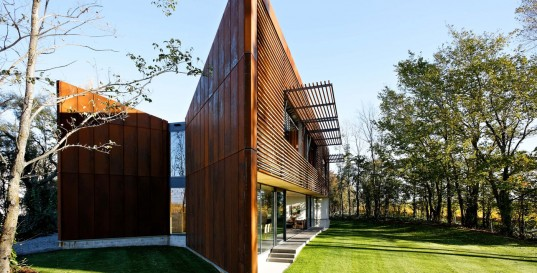 Unique open space home design cloudy bay shack wonderful - Maison freshwater brewster hjorth architects ...